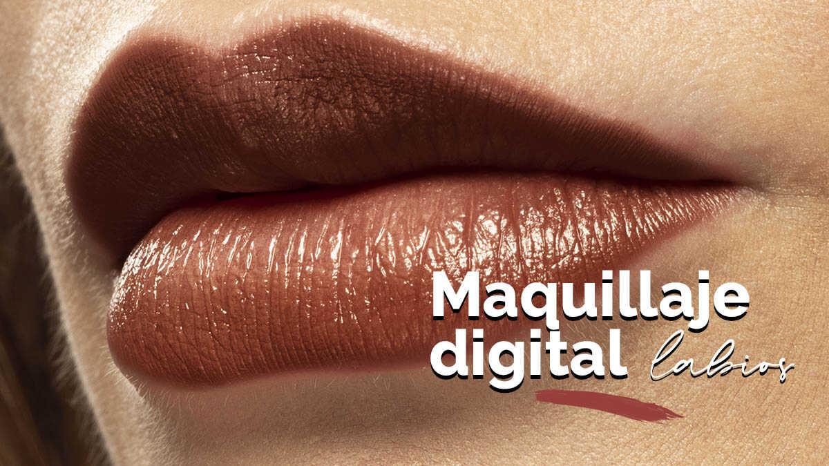 edición digital de labios